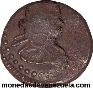 Maracaibo Provisional copper 1-2 Real 1813 e