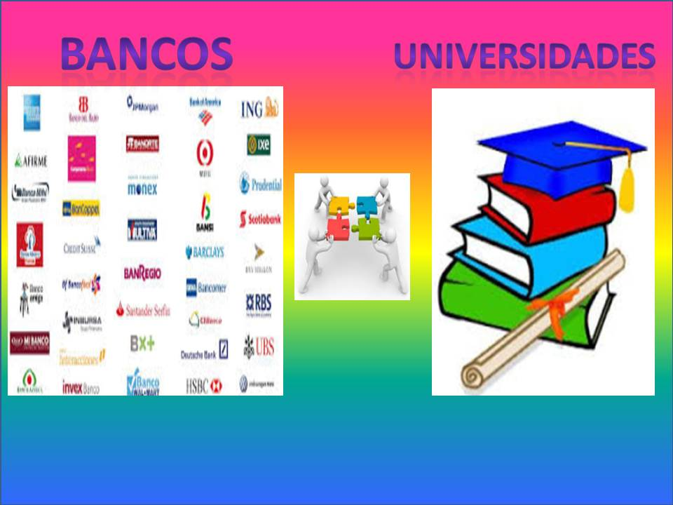 banco y universidades POST